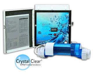 Electrolyseur au sel Crystal Clear