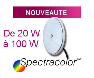 Lampe piscine Spectracolor